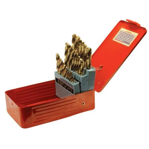 Performance Tool W1368 Bohrer-Set, 204 Teile, W9017, 29pc Titanium Coated Drill Bit Set -