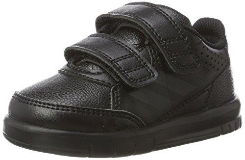 ltaSport CF I Sneaker, Schwarz (Core Black/Core Black/Footwear White), 27 EU (Adidas Kleinkinder Turnschuhe)