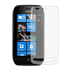 6 x Clear LCD Screen Protectors for Nokia 710 Lumia (Sabre) - Anti-Scratch Guard / Display Savers