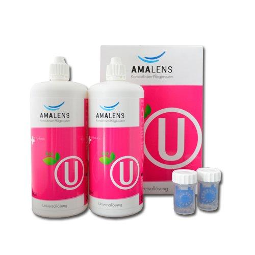 AMA Lens U bio Kontaktlinsen-Pflegesystem 2 x 380ml