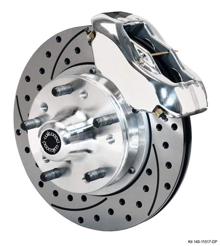 Wilwood 140-11017-DP Front Brake Kit Drilled and Polished