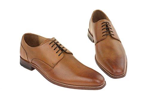 Gordon & Bros Milan - Herren Schuhe Schnürer - 4374 g Black Tan