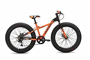 "'Vertek Fahrrad Fat Bike Fat Bull 20 ""7 Geschwindigkeit Orange (Fat)/Fat Bike Fat Bull 20 7 SPEED orange (Fat) from VERTEK"