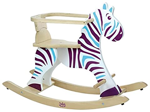 Vilac Vilac1026 Rocking Horse with Checkers Cloth