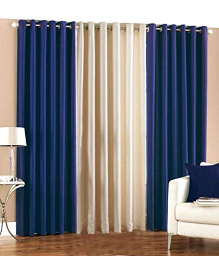 check MRP of navy blue curtains Generic