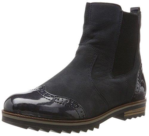 Remonte Damen R2281 Chelsea Boots, Blau (Pazifik/Navy 15), 44 EU