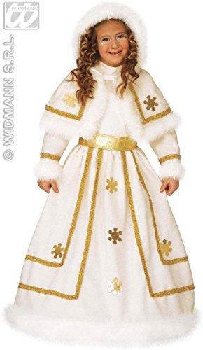 Schnee-Prinzessin-Kostüm für Mädchen - 4-5 Jahre (Snow White Prinz Kostüm)