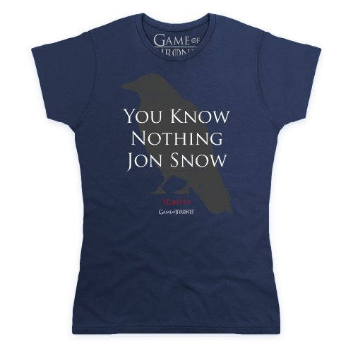 official-game-of-thrones-you-know-nothing-jon-snow-quote-camiseta-para-mujer-azul-marino-l