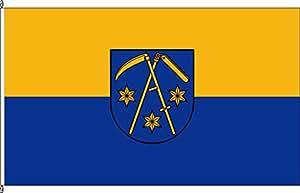 Hochformatflagge Sandbeiendorf - 150 x 500cm - Flagge und Fahne