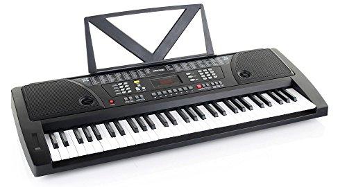 Kirstein Fun Keyboard 61 Touches, y Compris L'alimentation et Support de Musiqu