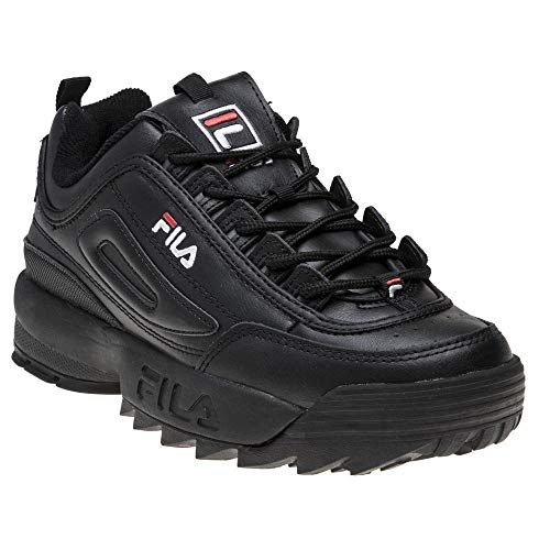 Fila Disruptor II Premium Niña Zapatillas Negro