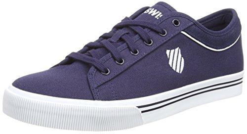 K-Swiss Unisex-Erwachsene Bridgeport II Sneakers, Blau(Navy/White 401), 46 EU