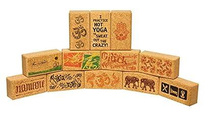 Yogablock Kork Lyrics, 23 x 12 x 7, 5 cm, 100% Naturkork