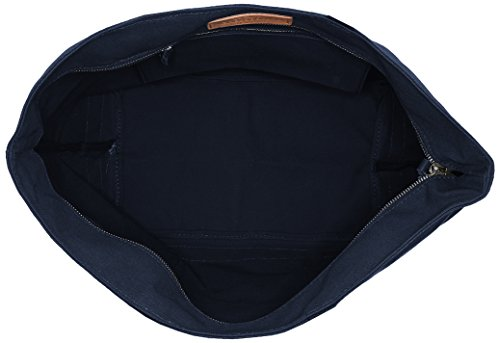 Vanessa Bruno  0Pve01-V40409, Damen Tote-Tasche one size Blau - Bleu (781 Pyrite)