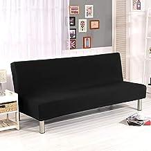 Cornasee Funda de Clic-clac elástica, Cubre/Protector sofá de 3 plazas,