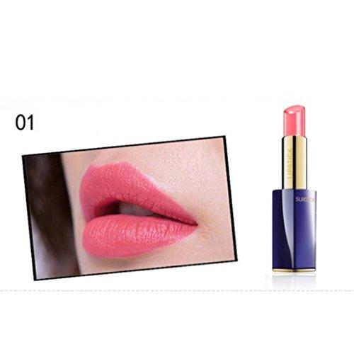 Gaddrt Frauen Beauty Make-up Lippenstift Hydrating Long Lasting Lip Gloss Waterproof Sexy Lipstick, a
