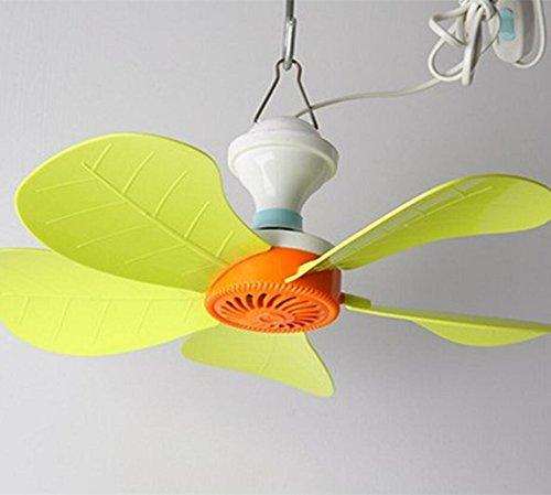 Miaoge Fünf Blätter kleiner Deckenventilator home Netze Deckenventilator Cartoon Deckenventilator mini Energiesparventilator 125mm