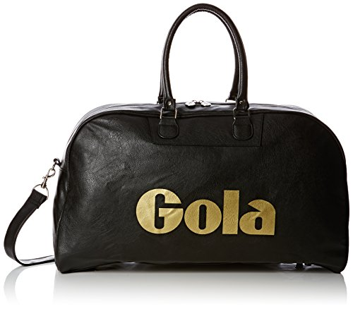 Gola Unisex-Adult Reynolds 72 Canvas and Beach Tote Bag Black/Gold