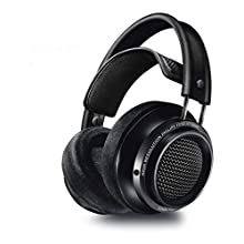 Philips Fidelio X2HR High Resolution Headphones with Velvet Cushions - Black