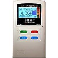 EMRSS Cornet ED88T Plus Medidor de trípode: RF/LF Electrosmog Campo Fuerza Medidor de potencia con medidor de Gauss integrado, medidor de campo eléctrico y visualización de frecuencia