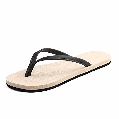 FLYRCX Onorevoli semplice pantofole pantofole estate spiaggia piana anti-skid cartella impermeabile mop c