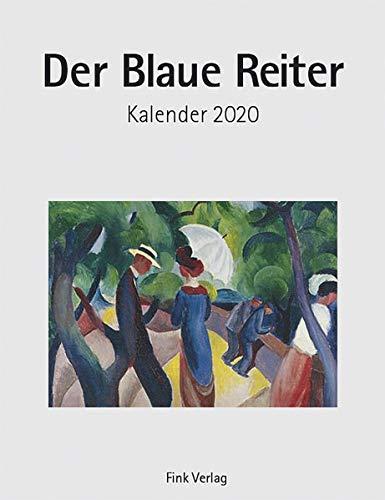 Der Blaue Reiter 2020: Kunst-Einsteckkalender