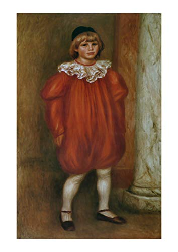 Spiffing Prints Pierre Auguste Renoir - Le Clown (Claude Renoir) - Extra Large - Archival Matte - Framed