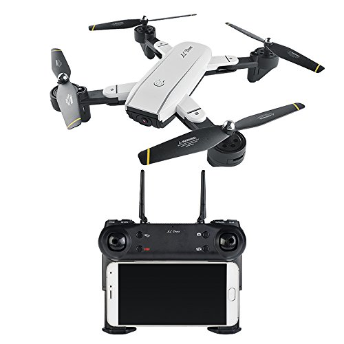 TOOGOO SG700 FPV RC Quadcopter RC Drone 2.4G 4CH 6-Axis Headless Mode Altitude Hold,Foldable RC Helicopter,15 pcs
