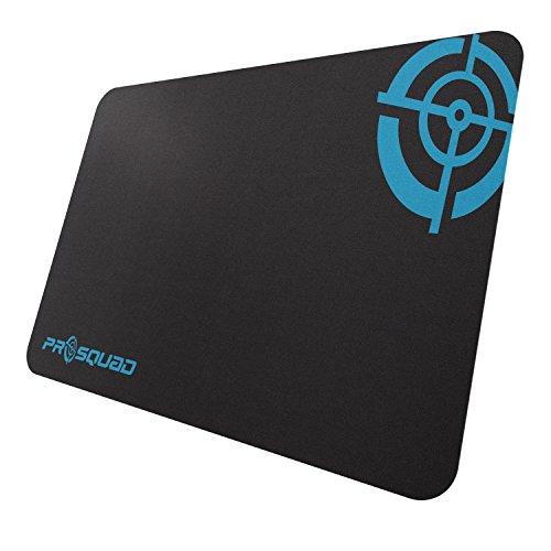 ProSquad SQ2400 Gaming Mauspad, Professional Speed-Pad, rutschfest und präzise, Slim, M: 25x35cm Slim, schwarz