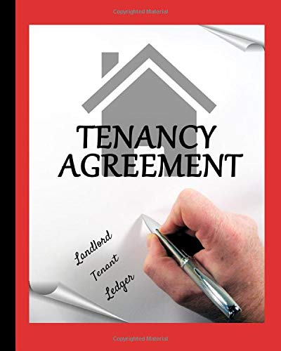 Landlord - Tenant Ledger: Your 12 Month Logbook Journal to Record 50 Rental Units / With Maintenance / Notes / Stay Organized For Taxes / With A Red Cover And A Tenant Agreements Picture