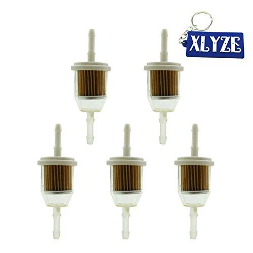 xlyze Kraftstofffilter für 7159602505003S 1095852505008–55050085505022s AM116304gy207091–303197541500passt 1/10,2cm und 5/40,6cm ID Fuel Line