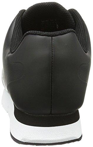 Calvin Klein Jeans Taline Rub Smooth/Hf, Sneakers Basses Femme Noir (Black/black)