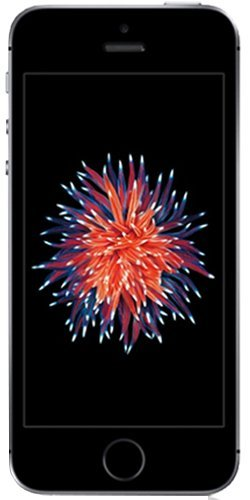 Apple iPhone SE - Smartphone (10,2 cm (4') (Wi-Fi, Bluetooth, 32 GB, 4G, cámara de 12 MP, iOS), gris espacial