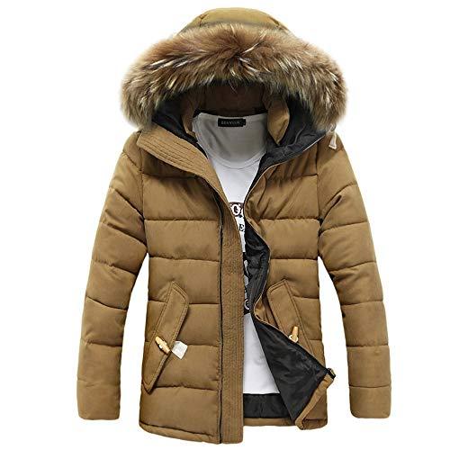 JYJM 2018 Weihnachten Männer Winter Langarm Mit Kapuze Tasche Verdickung Mantel Outwear Top Bluse Hoodie Sweatjacke Freizeitjacke Herren...