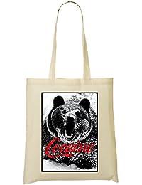 Grizzly Cocaine Scary T-Shirt Bolso De Mano Bolsa De La Compra