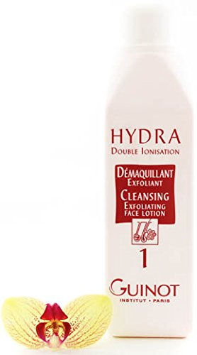 Guinot Hydra Double Ionisation Cleansing Exfoliating Face Lotion 500ml (Salon Size) by Guinot