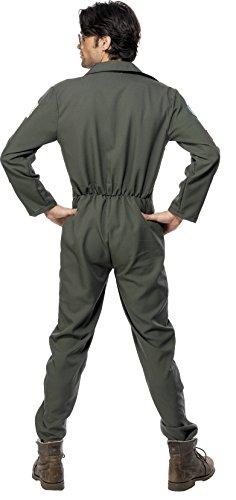 Imagen de smiffy's  disfraz de aviador para hombre, talla 48  50 36287m  alternativa