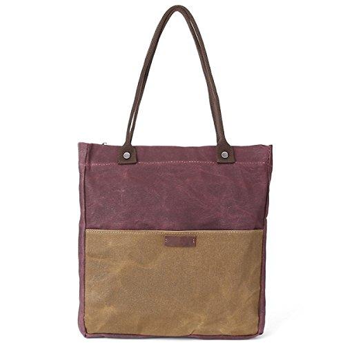 Signore Di Modo Multifunzionale Shoulder Bag Multi-color Red