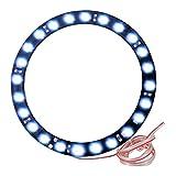 Vheelocityin Angel Eyes LED Strip Light Color Blue for KTM Rc 200