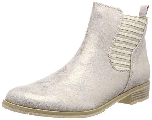 Brandneu c5195 3ac99 MARCO TOZZI Damen 2-2-25305-32 Chelsea Boots, Beige (Dune Metallic 412), 39  EU