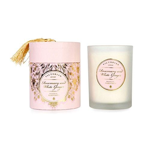 Victorian Duft-Kerze Rosemary & White Ginger (Rosmarin/Weißer Ingwer) -