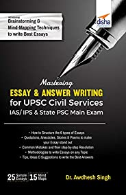 Mastering Essay & Answer Writing for UPSC Civil Services IAS/ IPS & State PSC M