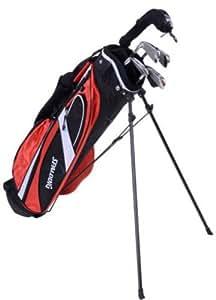 Spalding 1/2 Set Boxed SP99 Set complète club de golf + Sac chariot pour droitier Homme