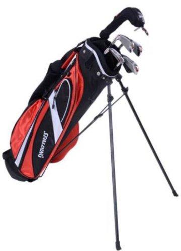 Spalding 1/2 Set Boxed SP99 Set complète club de golf + Sac chariot pour gaucher Homme