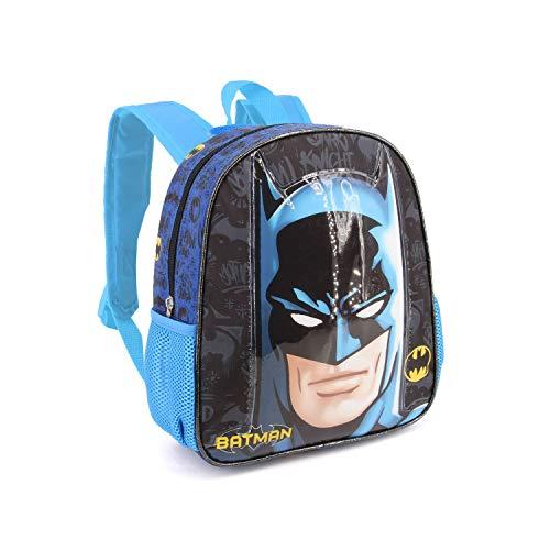 Karactermania Batman Knight-Basic Rucksack Mochila Infantil 40 Centimeters 18.2 (Multicolour)