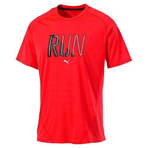 Puma Run S/S Maglietta Red Blast