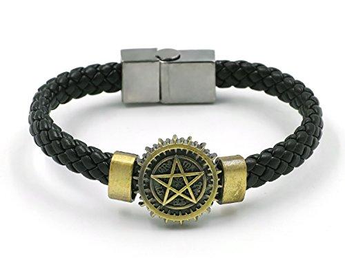 CoolChange Black Butler Armband geflochten mit Zeichen des Paktes