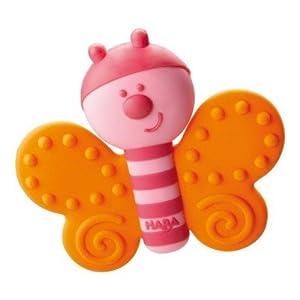 HABA 300434-Agarrador con Forma de Mariposa, niño Juguete
