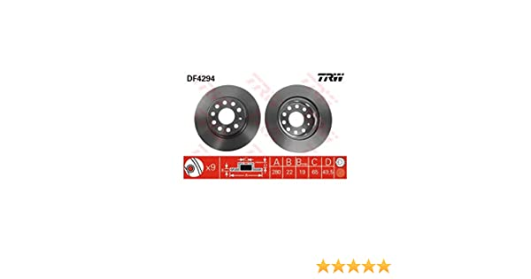 TRW Automotive AfterMarket DF4294 disco de freno