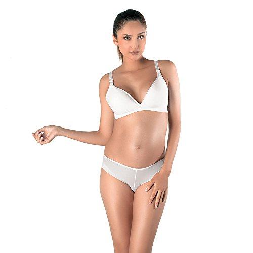 Cache Coeur Damen Unterhose Weiß